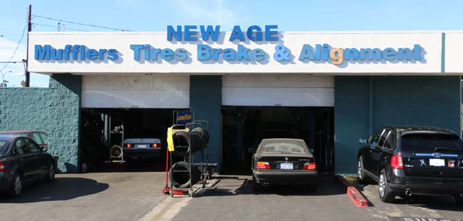 Tire Shops Open On Sunday >> New Age Auto Repair and Tire | Plaza de Autos | Culver City