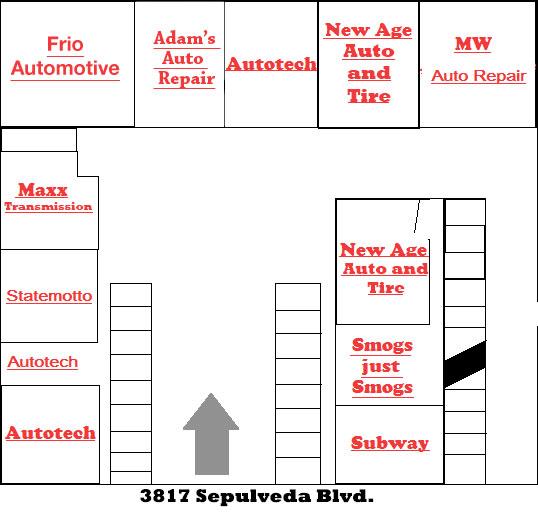 Plaza de Autos Auto Repair Culver City layout photo